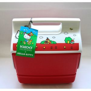 HELLO KITTY LIMITED EDITION NEW MINI 4 QT COOLER